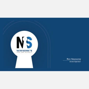 Newsomes Business Card Front and Back
